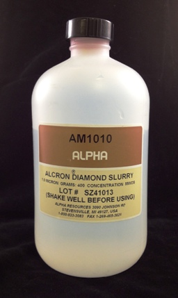 Alpha Resources Africa Product AM1010 in Diamond Polishing under Metallographic Supplies.