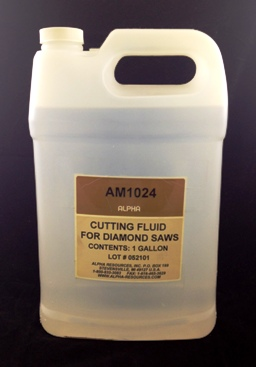 cutting fluid for diamond saws alpha resources africa. Black Bedroom Furniture Sets. Home Design Ideas