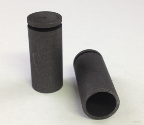 Alpha Resources Africa Product AR200020 in Graphite Crucibles under Sample Containment.