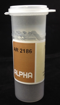 Alpha Resources Africa Product AR2186 in CHNOS Organic under LECO.