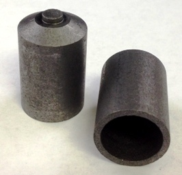 Alpha Resources Africa Product AR2703P in Graphite Crucibles under Sample Containment.