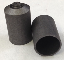 Alpha Resources Africa Product AR433 in Graphite Crucibles under Sample Containment.