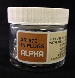 Alpha Resources Africa Product AR570 in Tin Capsules under Sample Containment.